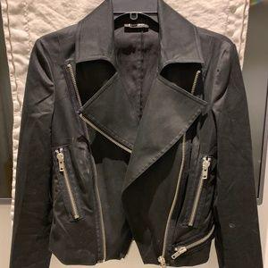 Bebe Black Biker Jacket